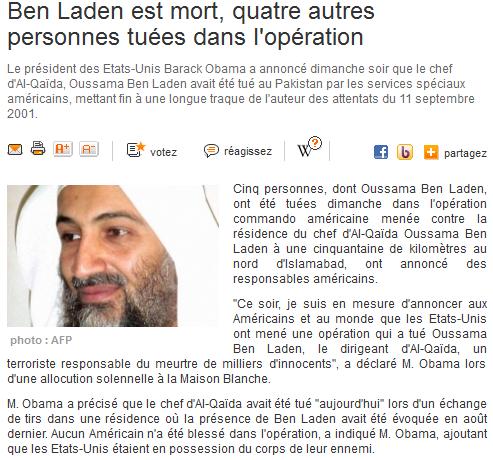 *** Ben Laden est mort *** 111