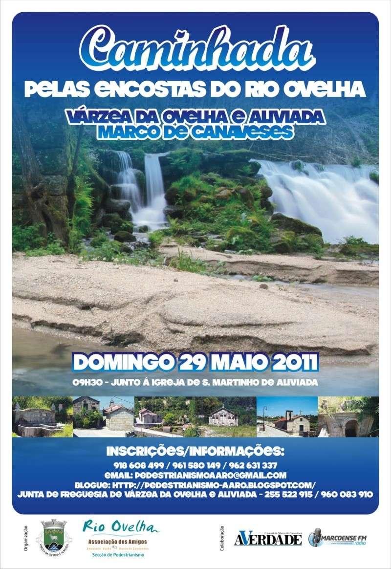 Caminhada Encostas do Rio Ovelha - Marco de Canavezes - 2011/05/29 Cartaz11