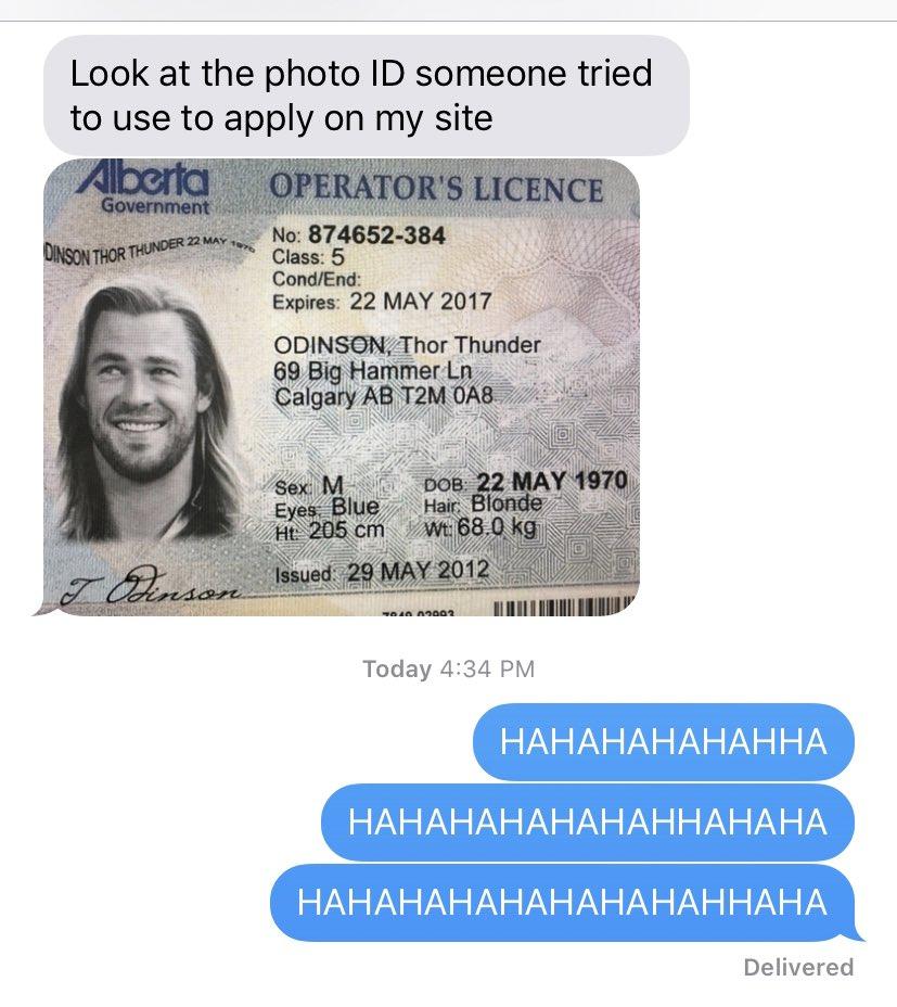 Usan el DNI de Thor para comprar marihuana online Dni_th10