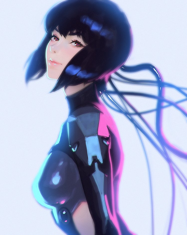 Netflix anuncia un nuevo anime de Ghost in the Shell Motoko10