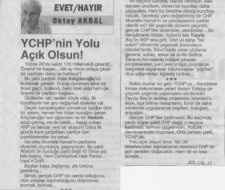YCHP / O. AKBAL 27105310