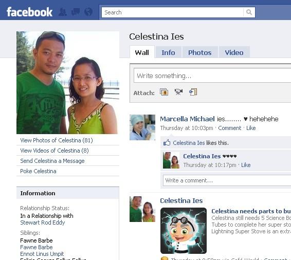 Orang NUNTUNAN di facebook 314