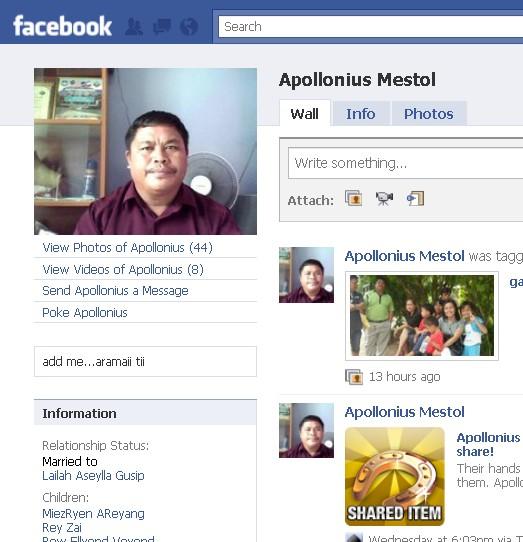 Orang NUNTUNAN di facebook - Page 2 320