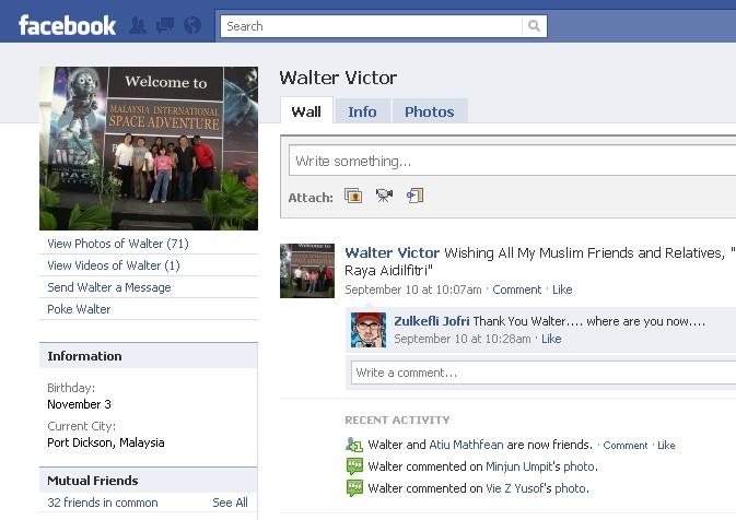 Orang NUNTUNAN di facebook 612