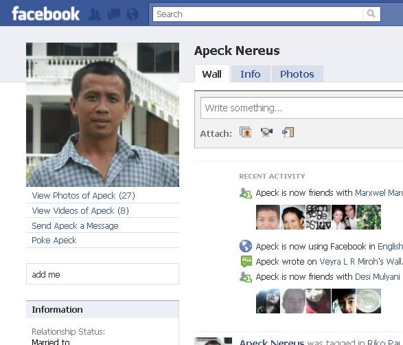 Orang NUNTUNAN di facebook - Page 2 716