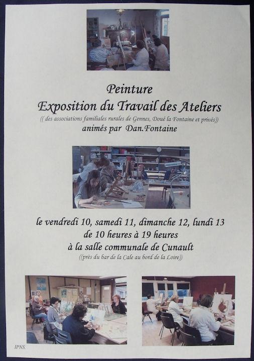Exposition des Ateliers 2011 à Cunault ....... Redime10