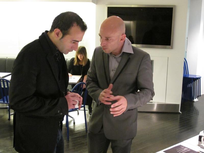 Benjamin Muller, présentation chez Colette, Paris, le 7 juin 2011 Img_2621