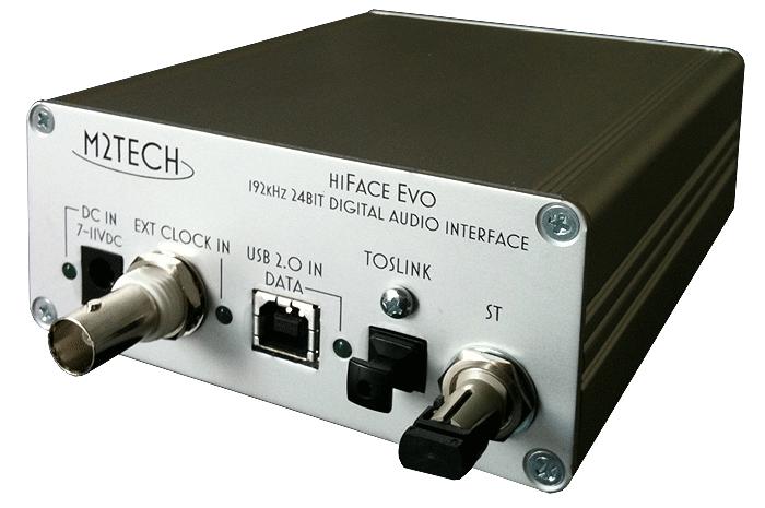 hiFace Evo High-End USB to SPDIF Converter  M2tech10