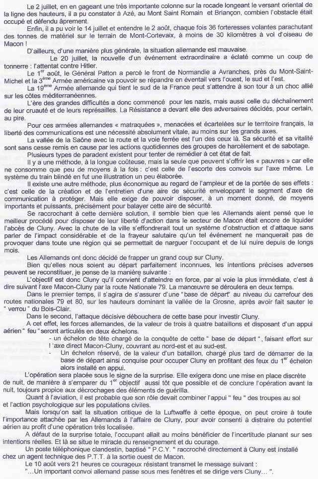 LA BATAILLE DE CLUNY Cluny_11