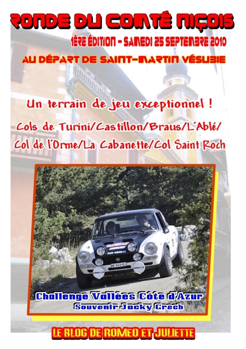 Ronde du Comté Niçois - Samedi 25 septembre 2010 Affich10
