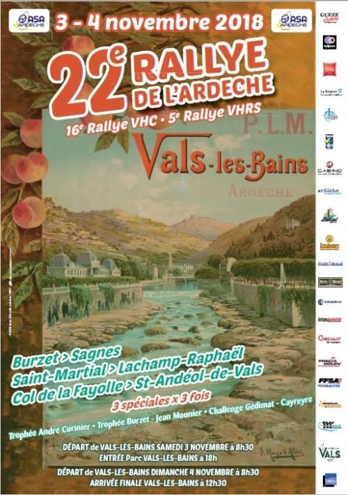 [07] 3-4/11/2018 22ème Rallye Ardéche-16ème VHC-5ème VHRS 41626310