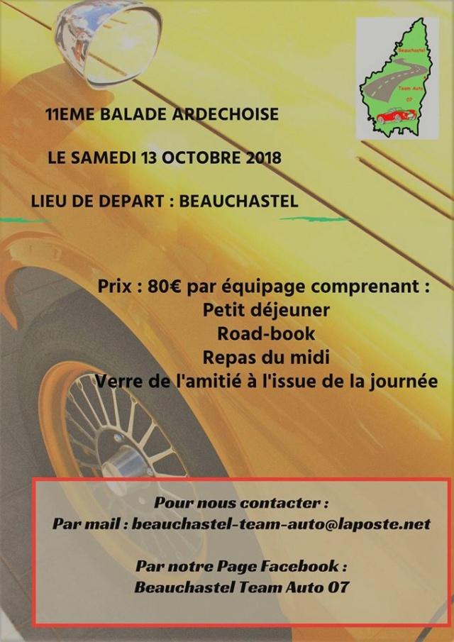 [07] 13/10/2018 - 11ème balade Ardèchoise - Beauchastel 41920110