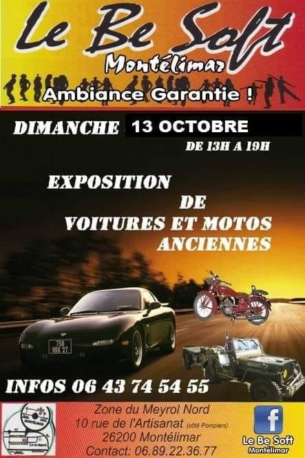 [26] 13/10/2019 Exposition rassemblement  Be-Soft Monlélimar 70325110