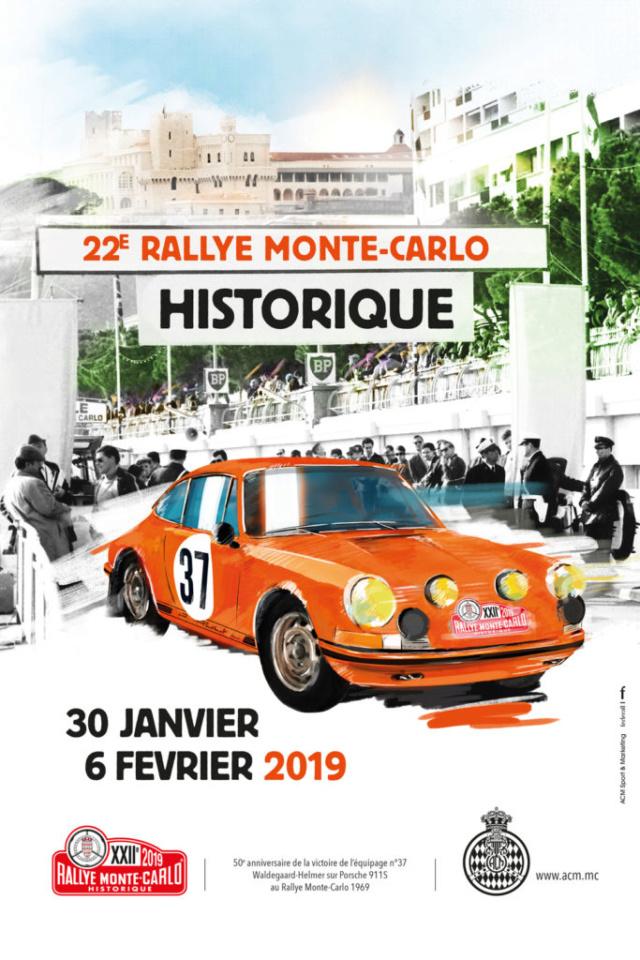 22ème RALLYE MONTE-CARLO HISTORIQUE 30 janvier au 06 février 2019 Visuel10
