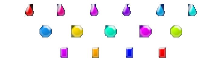 Gemas con propiedades especiales Amulet25