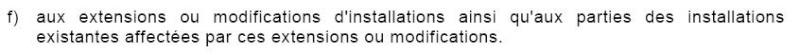 Quelles règles est à appliquer en cas de rénovation ? Nfc_ob10