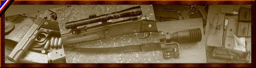 TIR et COLLECTION Armes Règlementaires