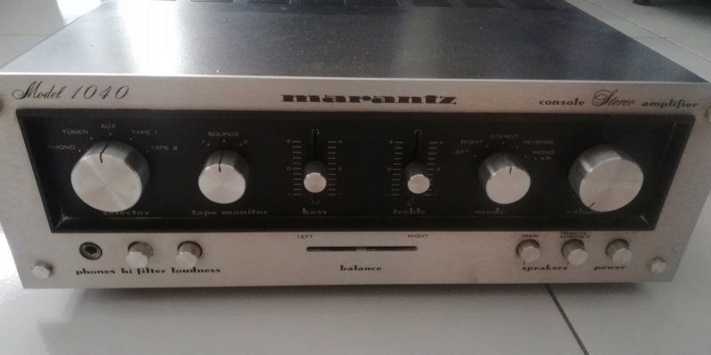 Marantz model 1040 used amplifier Img_2061