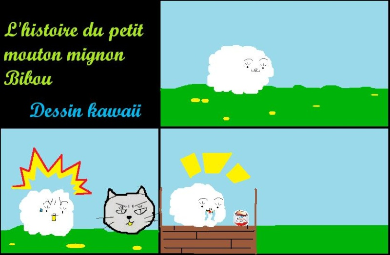 La vie du Mouton Kawaii: Bibou  Bibou_10