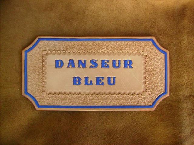 IMAGINACUIR, cuir repoussé et décoré Plaque15