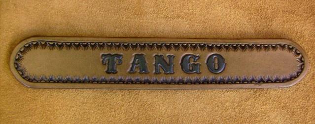 IMAGINACUIR, cuir repoussé et décoré Plaque16