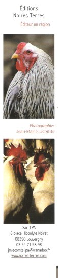 Marque-pages coq 008_1112