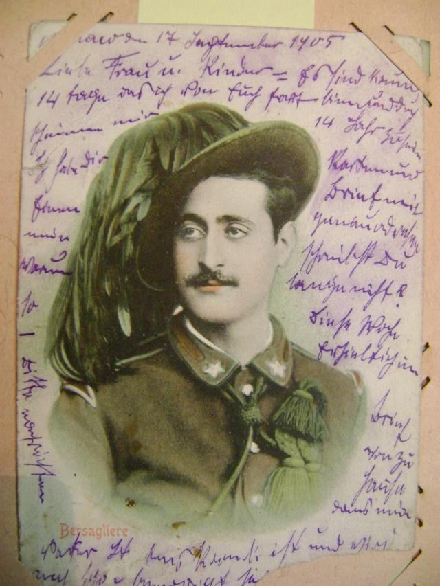 Quelques cartes postales de l'armée italienne. Dsc04843