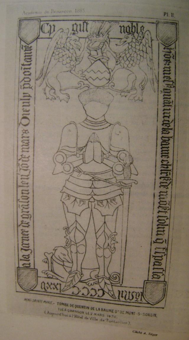 Beau livre sur l'histoire des 13°, 14° et 15° siècles en Franche Comté. Dsc05217
