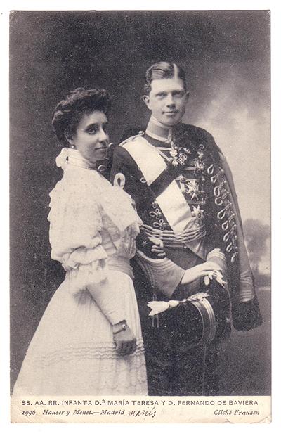 Ferdinand de Bavière et L'Infante Maria Teresa Espagn10