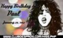 HAPPY BIRTHDAY PAUL STANLEY 50095610