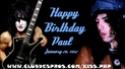 HAPPY BIRTHDAY PAUL STANLEY 50283410
