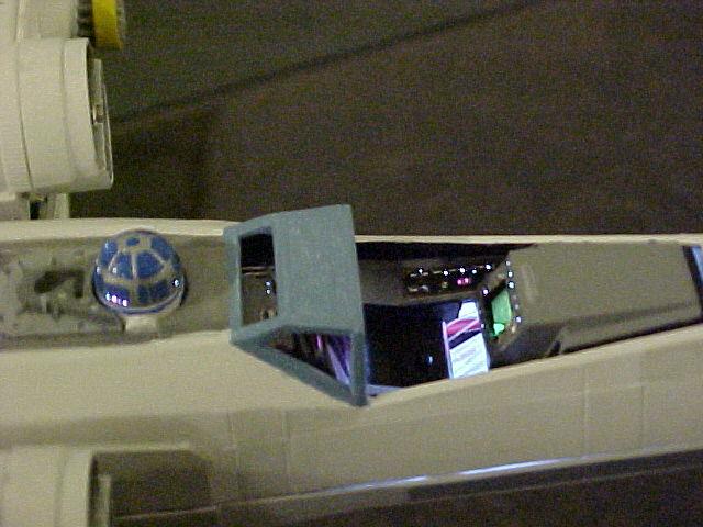commande spéciale x-wing avec lumiere Xlt210