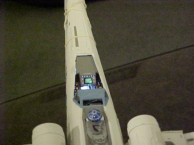 commande spéciale x-wing avec lumiere Xlt310