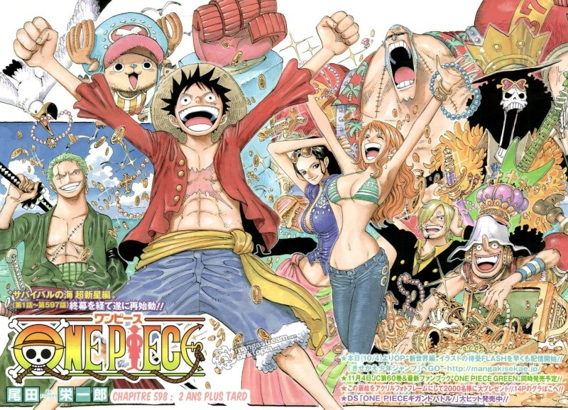 "Manga : ""One Piece"" Mugiwa10"