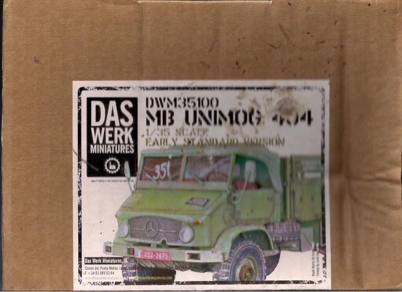 L'Unimog MB 404 de chez Das Werk Miniatures Image087