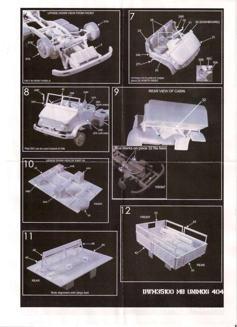 L'Unimog MB 404 de chez Das Werk Miniatures Image090