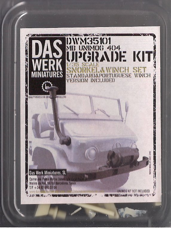 L'Unimog MB 404 de chez Das Werk Miniatures Image091