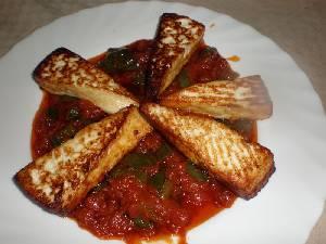 Queso frito con Tomate Queso-10