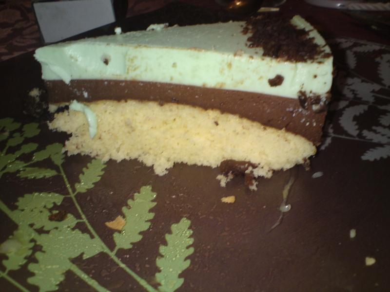 Bavarois chocolat menthe 00410