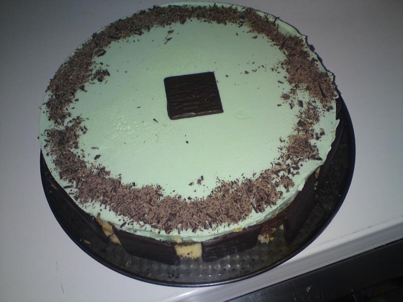 Bavarois chocolat menthe 01112