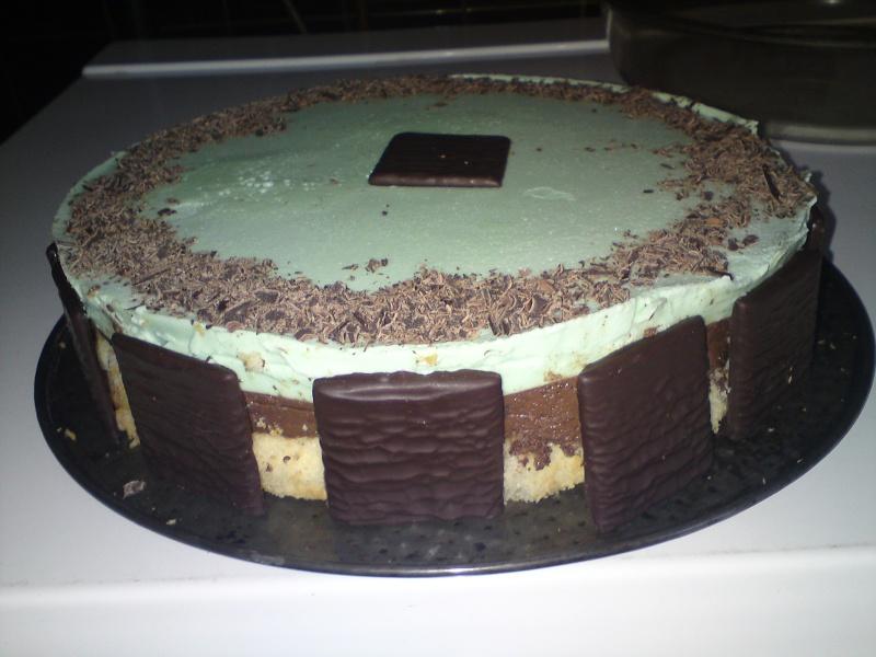 Bavarois chocolat menthe 01212