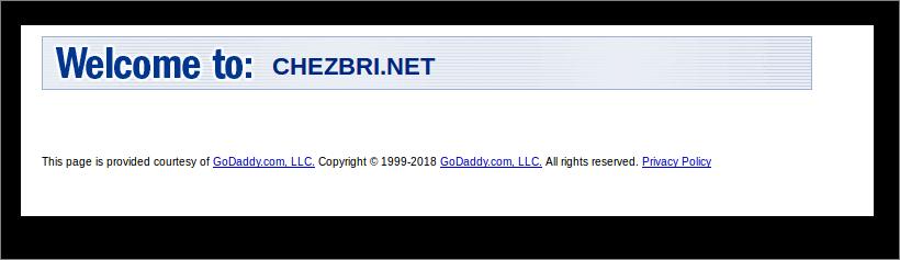 Problème d'accès depuis renouvellement du nom de domaine Zzz11