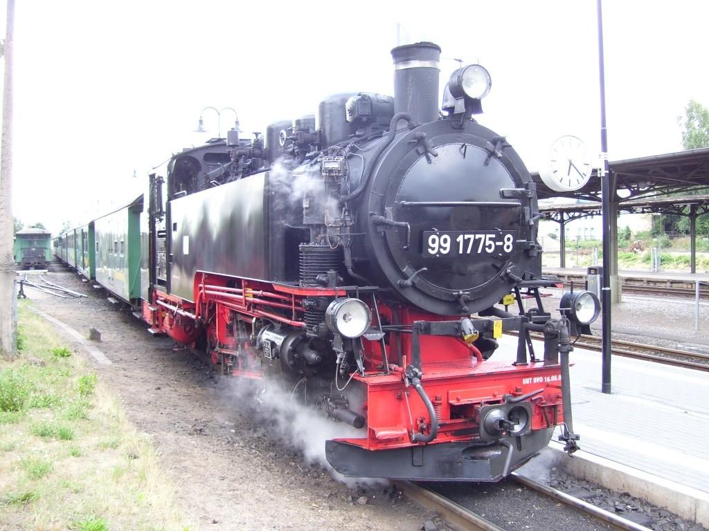sächsische Schmalspurbahn - 750mm-Schmalspurlokomotiven  100_0816
