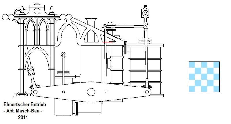 """Dampfmaschine des Dampfbootes """"Königin Maria"""" von 1837 - M1:15 - Seite 2 Dkm-2610"""