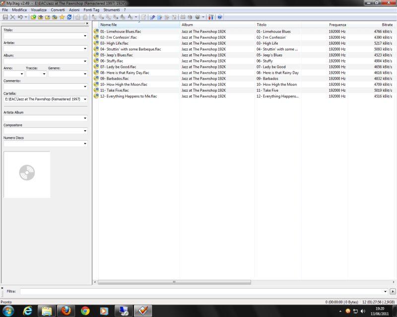 Hiface - Foobar - Windows 7 Hiface12