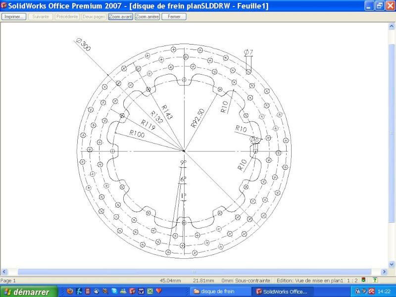 disques de frein pour être dans le règlement Imp_pl10