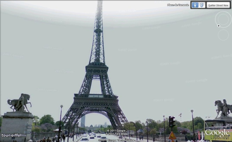 Street View, du nouveau à Paris pour bientôt. Tour10