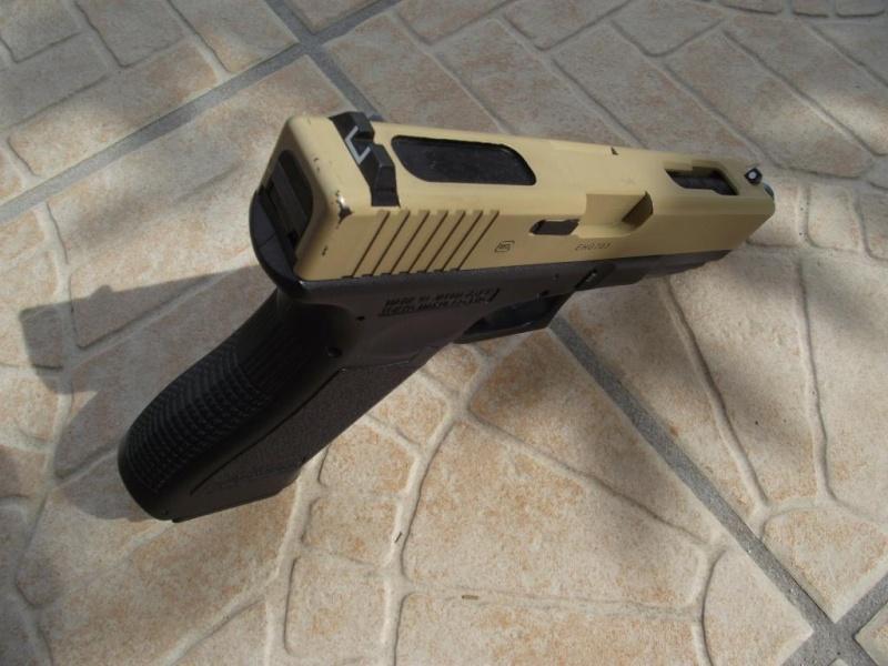 Smock flectarn/holster OD/Cagoule ACU/AEP G18C Marui/OTV ACU Dscf0121