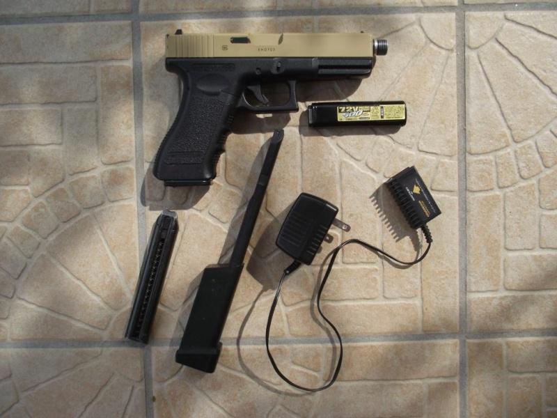 Smock flectarn/holster OD/Cagoule ACU/AEP G18C Marui/OTV ACU Dscf0122