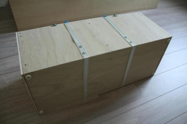 Bricolage : une caisse de transport pour VIL Dessou10